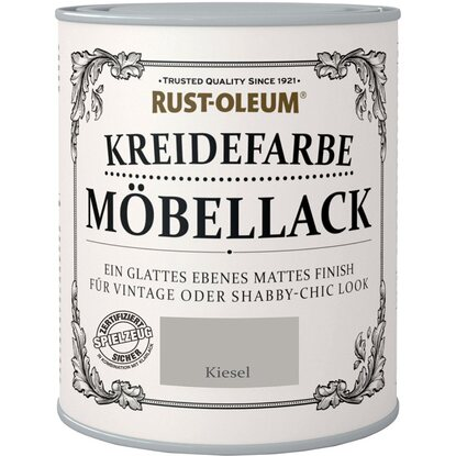 rust oleum m bellack kreidefarbe kiesel matt 750 ml kaufen. Black Bedroom Furniture Sets. Home Design Ideas