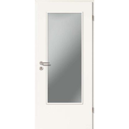 zimmert r dekor wei ga24 la o glas 86 cm x 198 5 cm anschlag rechts kaufen bei obi. Black Bedroom Furniture Sets. Home Design Ideas