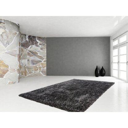 teppich posh 620 anthrazit 160 cm x 230 cm kaufen bei obi. Black Bedroom Furniture Sets. Home Design Ideas