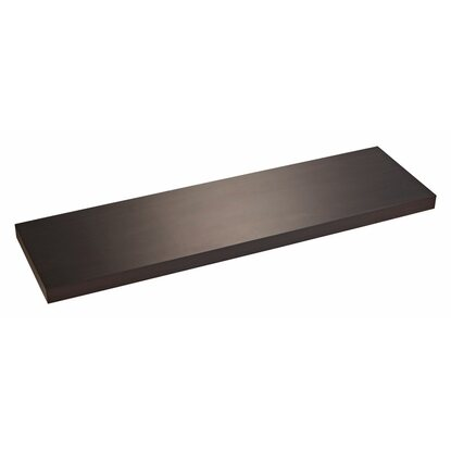 wandregal wenge holznachbildung 100 cm x 28 cm x 4 cm kaufen bei obi. Black Bedroom Furniture Sets. Home Design Ideas