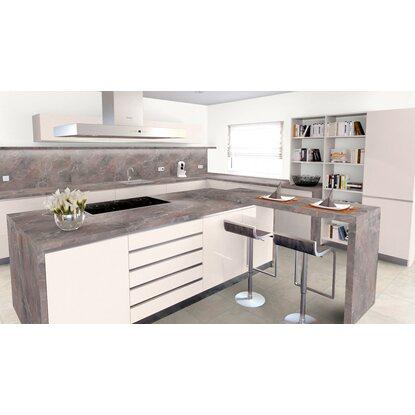 Arbeitsplatte 65 cm x 3 9 cm marmor marquina braun grau sl120sc kaufen bei obi - Arbeitsplatte braun ...