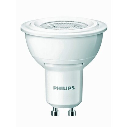 Philips LED-Lampe Reflektor GU10 / 4,5 W (180 lm) Warmweiß EEK: A ...