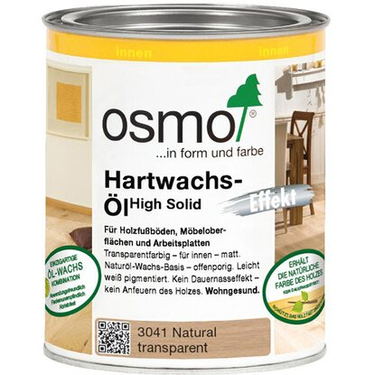 osmo hartwachs l effekt natural 750 ml kaufen bei obi. Black Bedroom Furniture Sets. Home Design Ideas