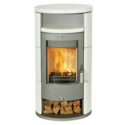 Fireplace Kaminofen Alicante Keramik Beige
