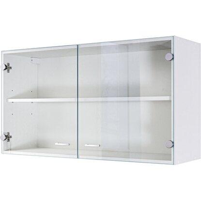 flex well classic oberschrank mit glast r speed 100 cm wei kaufen bei obi. Black Bedroom Furniture Sets. Home Design Ideas