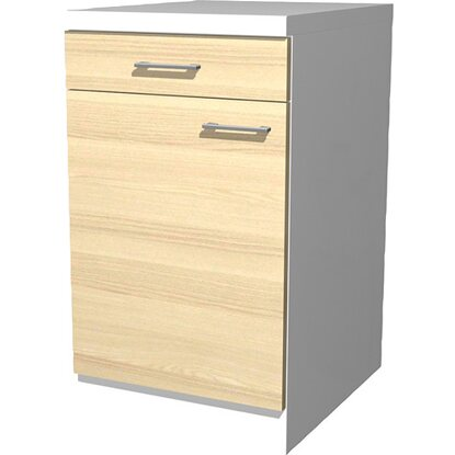Flex-Well Exclusiv Unterschrank Akazia 50 cm Akazie