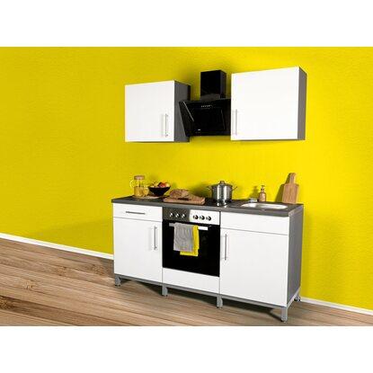 menke k chenzeile rack time 2 wei hochglanz 180 cm kaufen bei obi. Black Bedroom Furniture Sets. Home Design Ideas