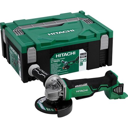 Hitachi Akku Winkelschleifer G18DBAL Brushless Basic