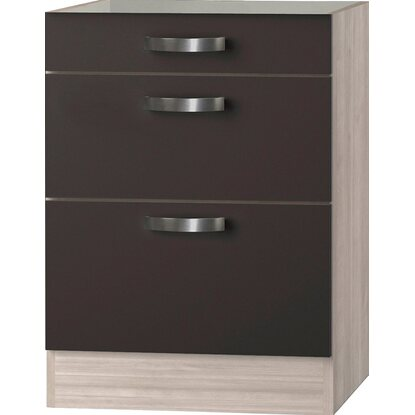 optifit unterschrank ohne arbeitsplatte optikult faro 3 schubladen 60 cm kaufen bei obi. Black Bedroom Furniture Sets. Home Design Ideas