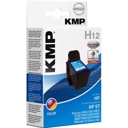 KMP Tintenpatrone H12 Color