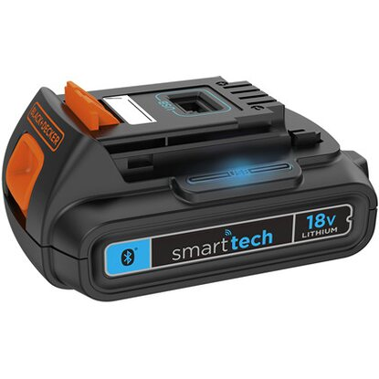 Black+Decker Akku 18 V 1,5 Ah Smart Tech BL1518ST