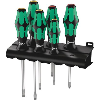 Wera Schraubendreher-Set Kraftform Plus 334 6-teilig