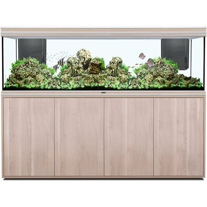 Aquatlantis Aquarium-Kombination Fusion 200x60 LED 2.0 661 l Eiche-Creme