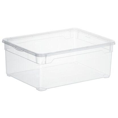 rotho clear box men shoe transparent 10 l kaufen bei obi. Black Bedroom Furniture Sets. Home Design Ideas