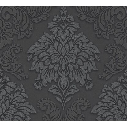 A.S. Creation Vliestapete Metropolitan Stories Lizzy London Damask Schwarz