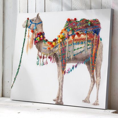 best of home Bild Camel 80 cm x 100 cm