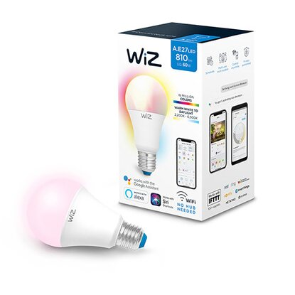 WIZ Smart LED-Glühbirne Wifi A60 E27 9 W EEK: A+