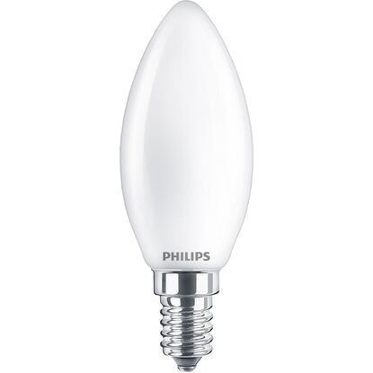 Philips LED-Lampe Classic  60 W E14 Matt EEK: A++