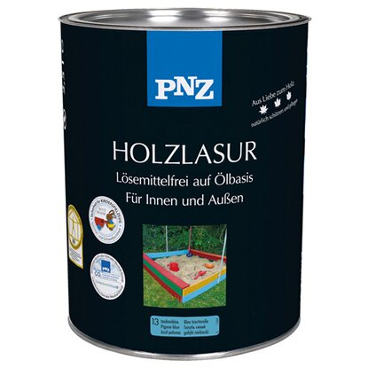 pnz holzlasur taubenblau deckend 250 ml kaufen bei obi. Black Bedroom Furniture Sets. Home Design Ideas