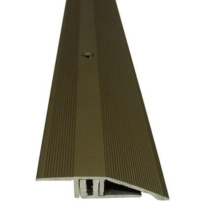 ausgleichsprofil inkl schrauben und d bel 45 mm f r 7 15 mm bronze 900 mm kaufen bei obi. Black Bedroom Furniture Sets. Home Design Ideas