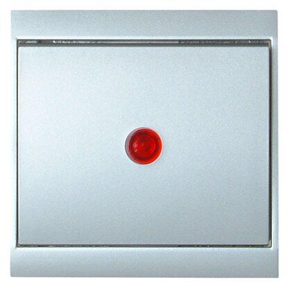 kopp kontrollschalter malta silber kaufen bei obi. Black Bedroom Furniture Sets. Home Design Ideas