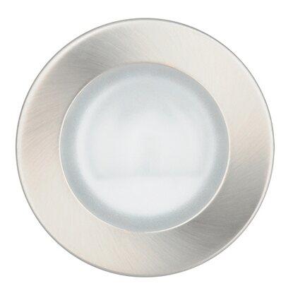 Obi halogen einbauleuchten 12v 3er set innen nickel for Halogen einbauleuchten