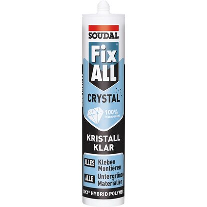 Soudal Fix All Kraftkleber Crystal/Kristallklar 300 g