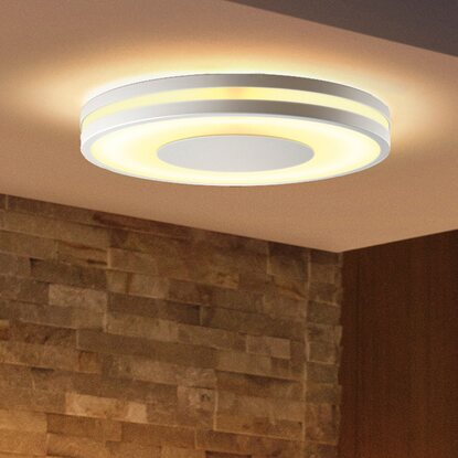 Philips Hue White Ambiance LED-Deckenleuchte Being Weiß 2400 lm Dimmschalter