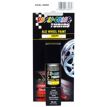 Dupli-Color Alu Wheel Paint Argento Lackstift 12 ml
