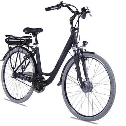 "Llobe E-Bike 28"" Alu City Bike Metropolitan Joy Schwarz 36 V/8 Ah"
