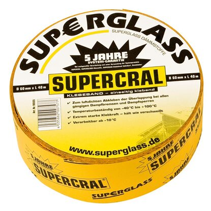 Supercral Klebeband 40 m