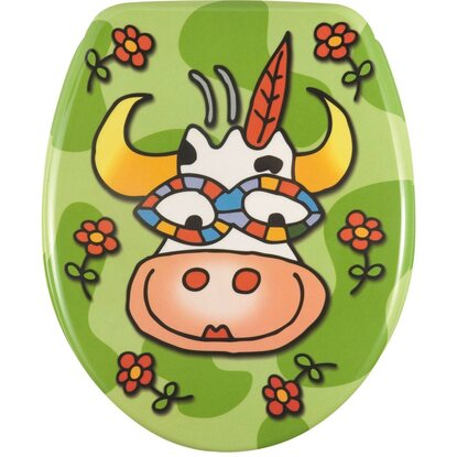 Wenko WC-Sitz Crazy Cow