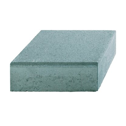 kann blockstufe aus beton grau 50 cm x 34 cm x 15 cm. Black Bedroom Furniture Sets. Home Design Ideas