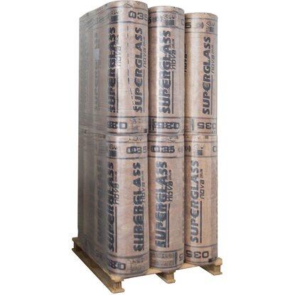 Superglass Dachdämmung Rollenklemmfilz  035-200mm