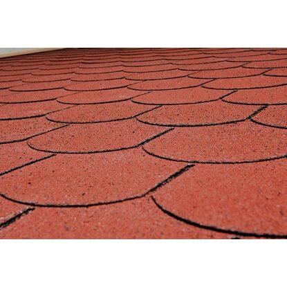 weka biberschwanz bitumenschindeln rot kaufen bei obi. Black Bedroom Furniture Sets. Home Design Ideas