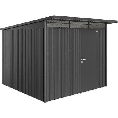 biohort ger tehaus avantgarde dunkelgrau metallic a7 260 x 300 cm mit einzelt r kaufen bei obi