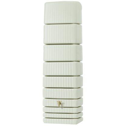 4rain Regenwasser Wandtank Slim 650 L Sandbeige Kaufen Bei Obi