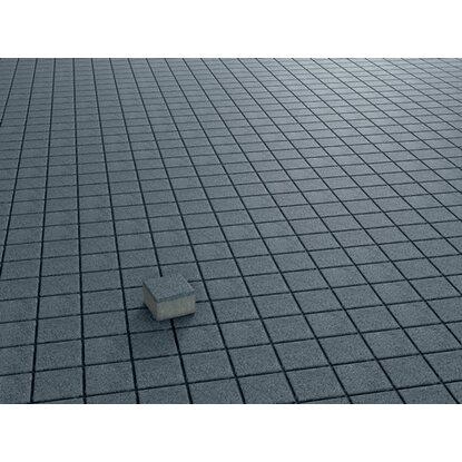 Quadrat Pflaster Beton Anthrazit Gewaschen 10 Cm X 10 Cm X