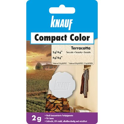 Knauf Compact Color Terracotto 2 g