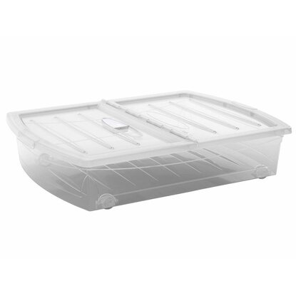 Box pod posteľ Spinning Box transparentný 56 l