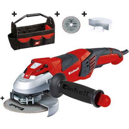 Einhell Winkelschleifer-Set TE-AG 125 CE Kit