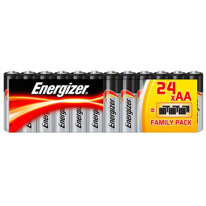 Energizer Alkaline Classic Family Pack AA Mignon 24 Stück