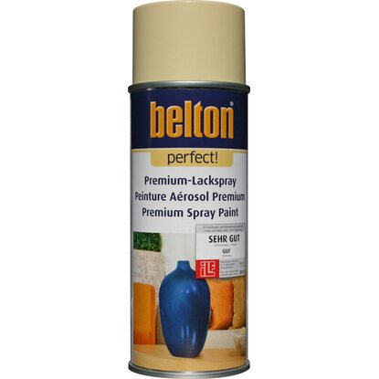 Belton Perfect Premium-Lackspray Beige seidenmatt 400 ml