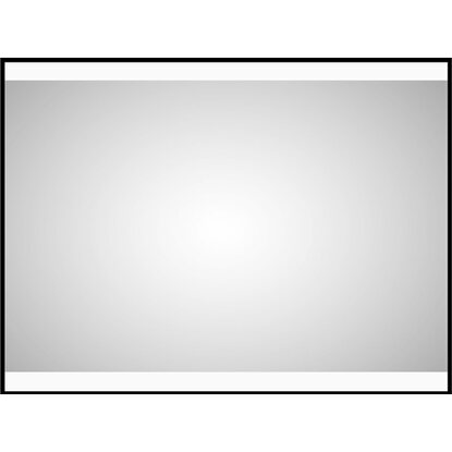 DSK Design LED-Lichtspiegel Black Stark 80 cm x 60 cm