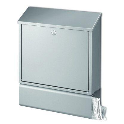 briefkasten mit zeitungsfach edelstahl kaufen bei obi. Black Bedroom Furniture Sets. Home Design Ideas
