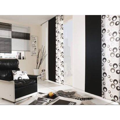 gardinia schiebevorhang retro wei 60 cm x 245 cm kaufen bei obi. Black Bedroom Furniture Sets. Home Design Ideas