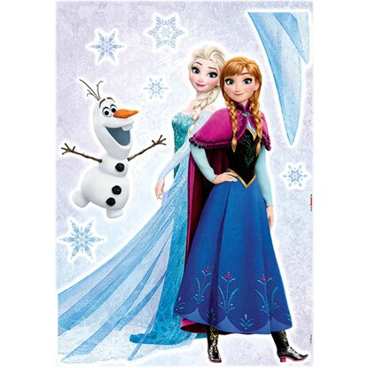 "Deco-Sticker ""Frozen Sisters"" 50 x 70 cm"