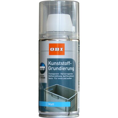OBI Kunststoff-Grundierung Spray Transparent matt 150 ml