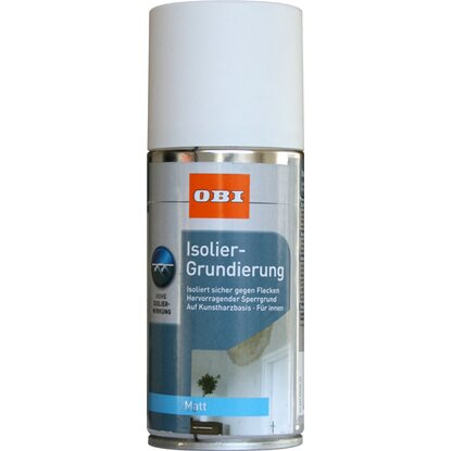 OBI Isolier-Grundierung Spray Weiß matt 150 ml