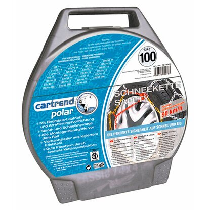 Cartrend Polar Schneekette Safety Gr. 100